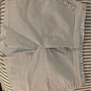 JCrew ruffle shorts